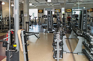 Gym at Accedian Networks