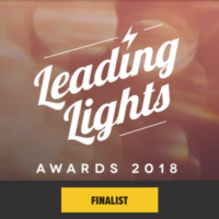 Leading Lights Awards 2018 Finalist
