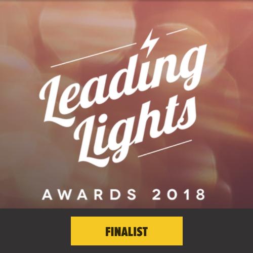 Leading Lights Awards 2018 Finalist