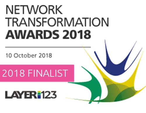 Layer123 Network Transformation Awards 2018 Finalist